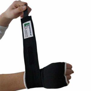 Handbandage Boxbandagen EASY WRAP mit angenähter Bandage b