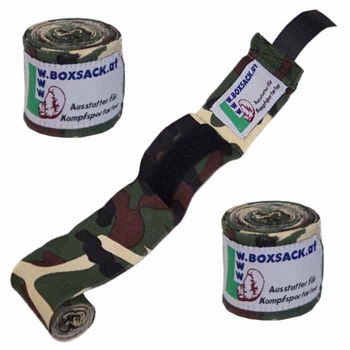 Boxbandagen Bandagen in Camouflage Design c