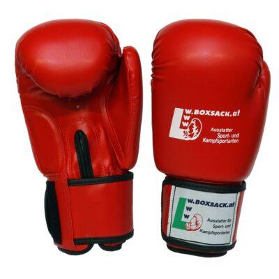 Boxhandschuhe POWER FIT aus strapazierfähigem Kunstleder Farbe Rot Blau Schwarz Bild a