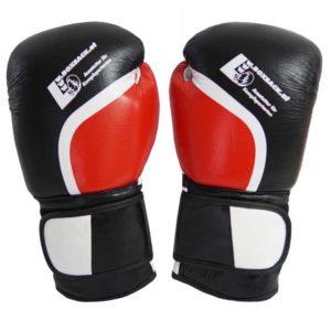 Boxhandschuhe DOMINATOR aus strapazierfähigem Rindsleder mit Mesh Bild b