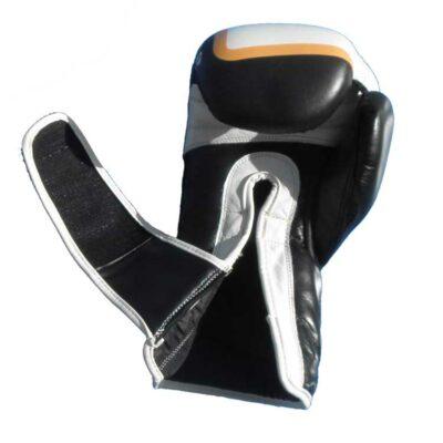 Boxhandschuhe FIGHTER aus strapazierfähigem Rindsleder mit Mesh Bild b
