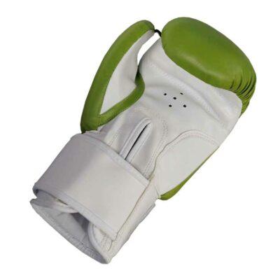 Boxhandschuhe GREEN APPLE aus strapazierfähigem Kunstleder Bild b