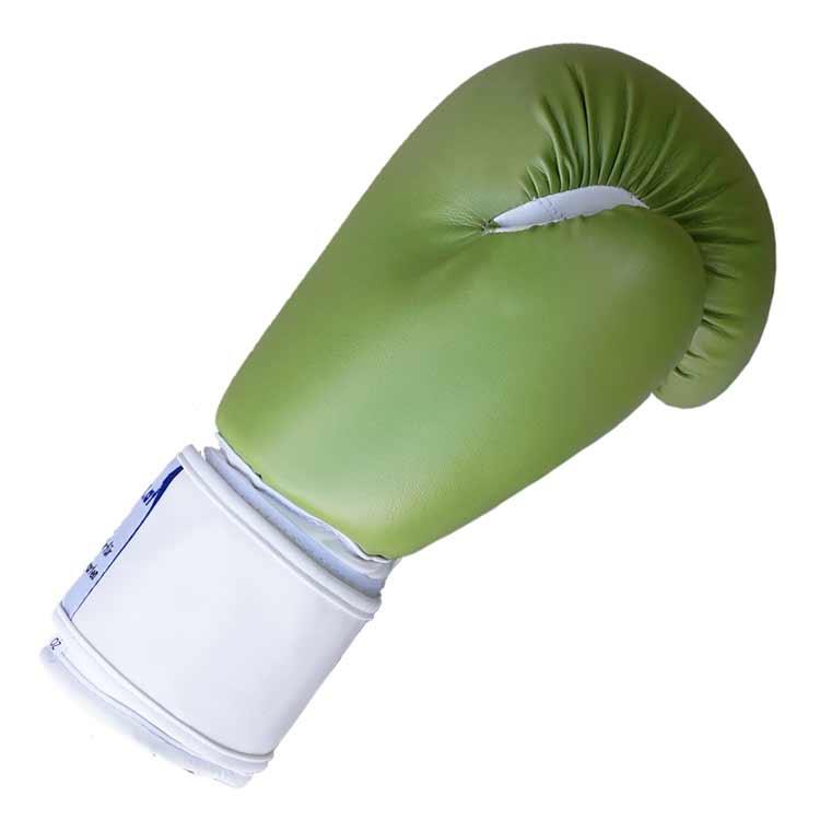 Boxhandschuhe GREEN APPLE aus strapazierfähigem Kunstleder Bild c