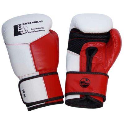 Boxhandschuhe MESCH STYLE PREMIUM aus strapazierfähigem Rindsleder mit Mesh Bild c