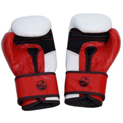 Boxhandschuhe MESH STYLE PREMIUM aus strapazierfähigem Rindsleder mit Mesh Bild a