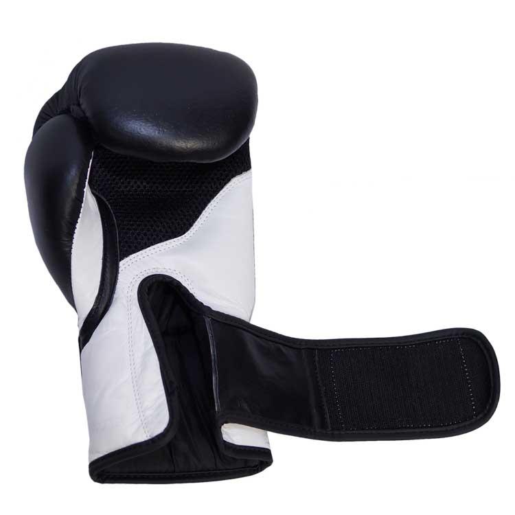 Boxhandschuhe TITANIUM aus bestem Rindsleder und extra breitem Verschluss Bild e