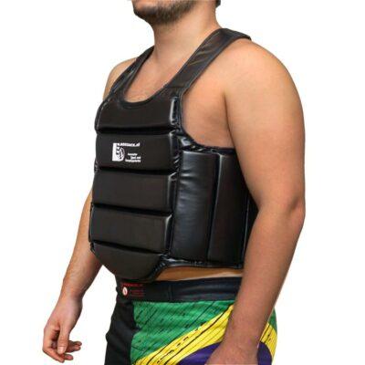 Brustschutz Körperschutz Secure aus Kunstleder a