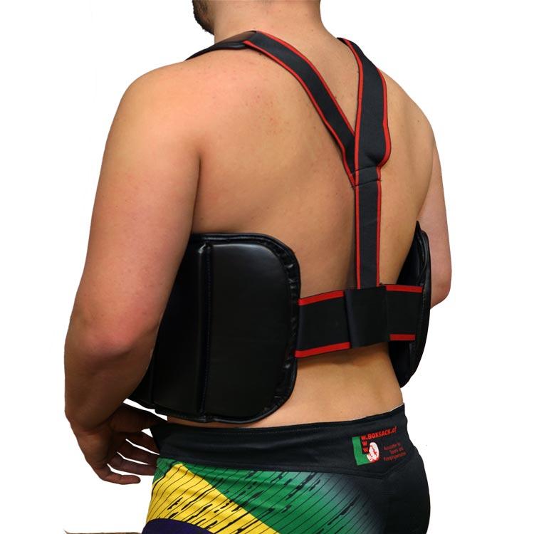 Brustschutz Körperschutz Secure aus Kunstleder b