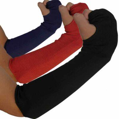 Ellenbogen Schoner elastisch in verschiedenen Größen und Farben.