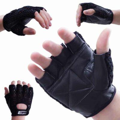 Gewichtherberhandschuhe Fitnesshandschuhe mit Mesch verschiedene Varianten Typ e