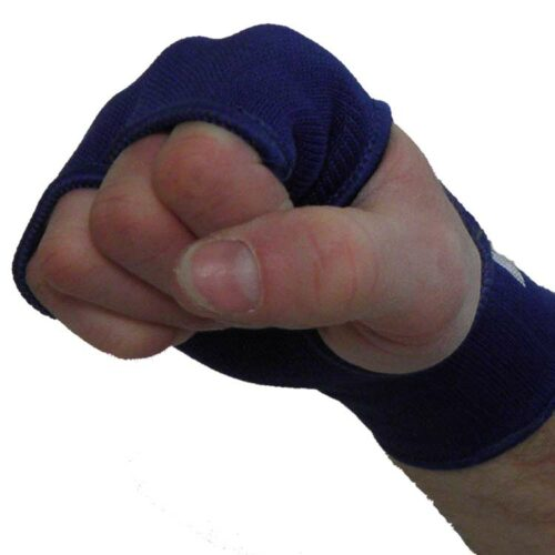Handbandagen Handgelenks Bandagen Knöchelschoner super elastisch Farbe Blau
