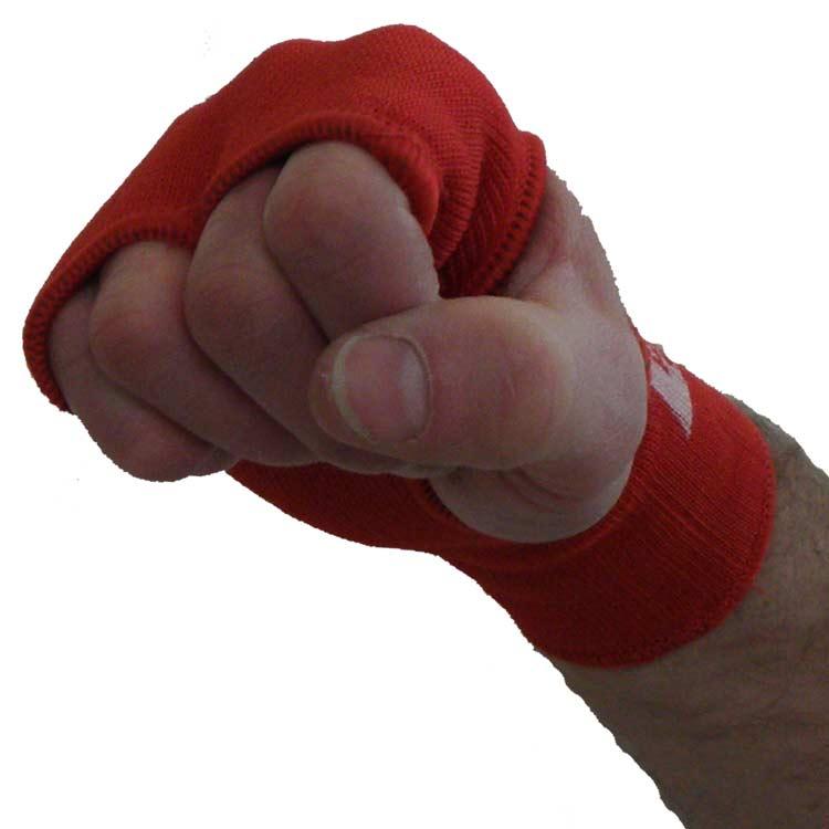 Handbandagen Handgelenks Bandagen Knöchelschoner super elastisch Farbe Rot