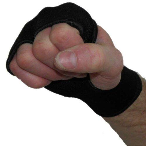 Handbandagen Handgelenks Bandagen Knöchelschoner super elastisch Farbe Schwarz