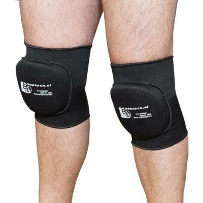 Knieschoner Kniebandagen mit Polsterung in elastischer Ausführung a