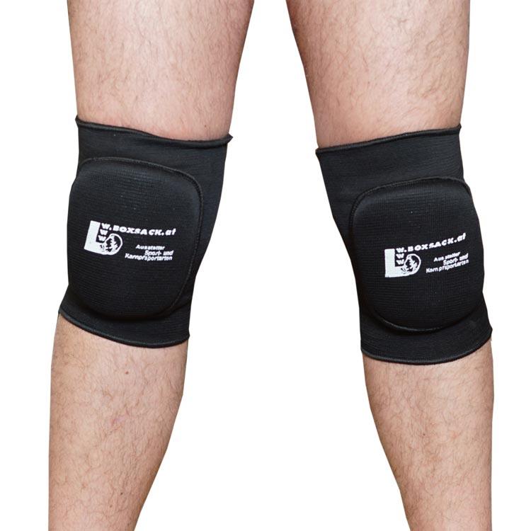 Knieschoner Kniebandagen mit Polsterung in elastischer Ausführung b
