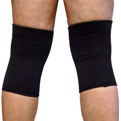 Knieschoner Kniebandagen Strumpf in elastischer Ausführung b