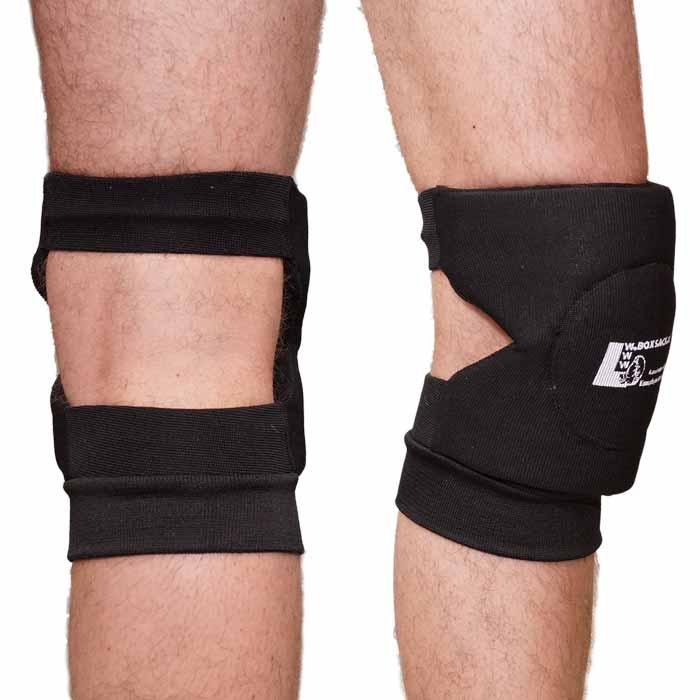Knieschoner Kniebandagen in elastischer Ausführung b