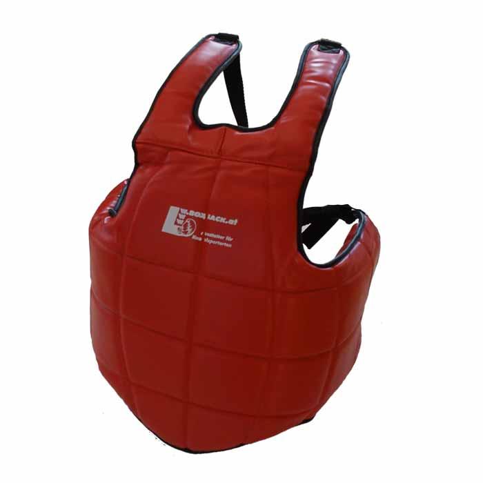 Brustschutz Körperschutz Rot