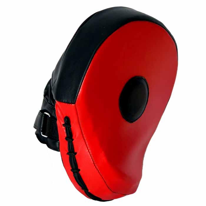 Pratzen Handpratzen gebogen Farbe Schwarz Rot Typ-d