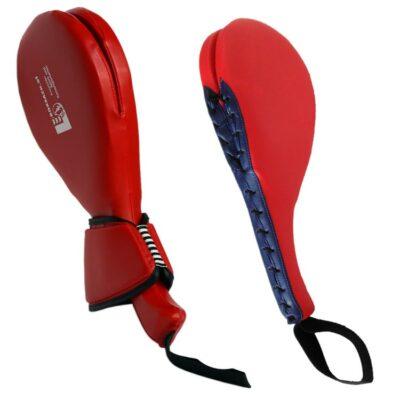 Schlagpolster für hohe Kicks Double Ausführung mit Handschutz Typ B