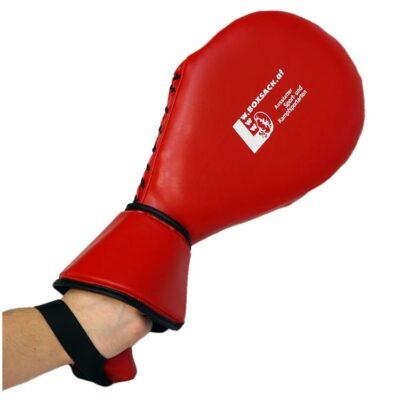 Schlagpolster für hohe Kicks Double Ausführung mit Handschutz Typ A