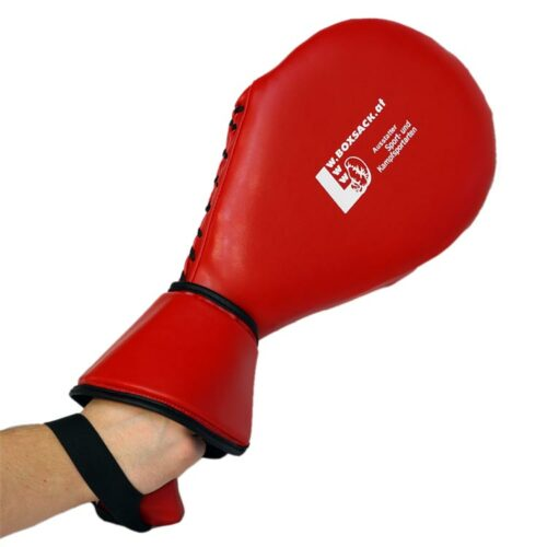 Schlagpolster für hohe Kicks Single Ausführung mit Handschutz Typ A