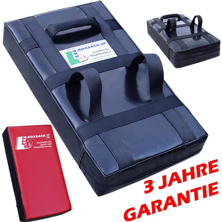 Schlagpolster PRIME Gerade Schwarz Rot 65 x 40 x 12 cm Typ c