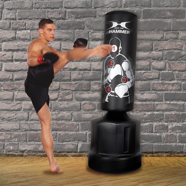 Standboxsack Boxdummy Sparring Pro Hammer Sport-a