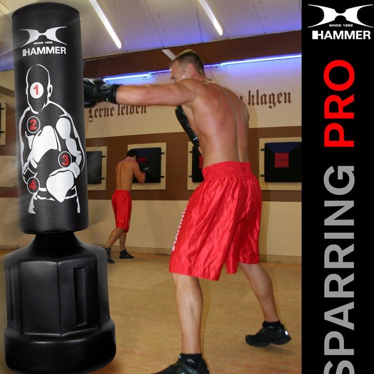 Standboxsack Boxdummy Sparring Pro Hammer Sport-d