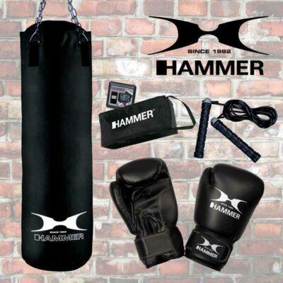 Boxsack SET CHICAGO von Hammer Sport Typ f
