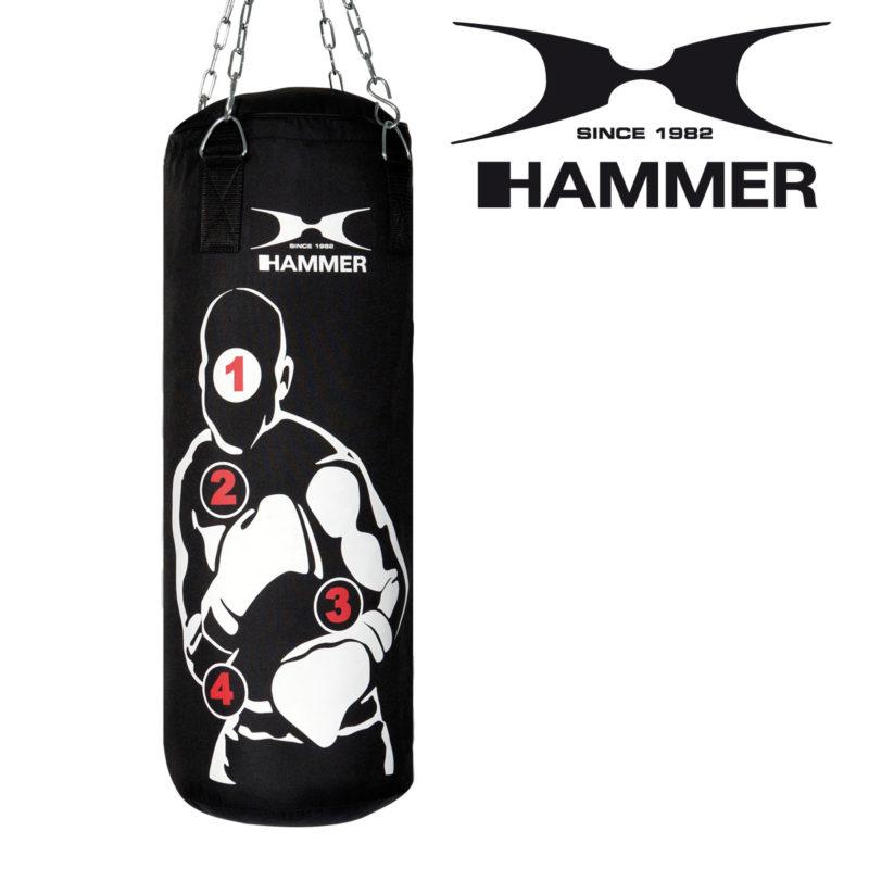 Boxsack Set Boxset Sparring Pro mit Zubehör HAMMER SPORT Typ d