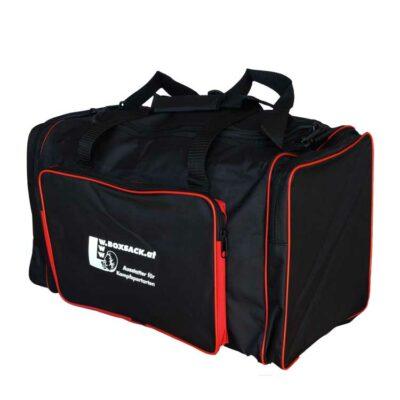 Sporttasche Trainigstasche Black and Red-a