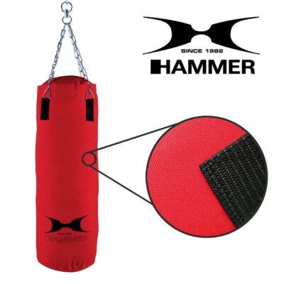 Boxsack FIT von HAMMER SPORT Farbe Rot c