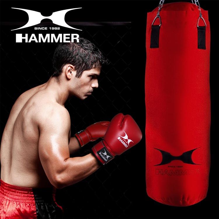 Boxsack FIT von HAMMER SPORT Farbe Rot b
