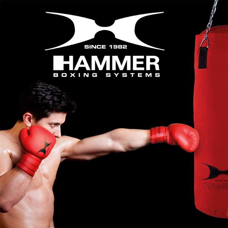 Boxsack Set HAMMER SPORT FIT mit Handschuhe Typ a