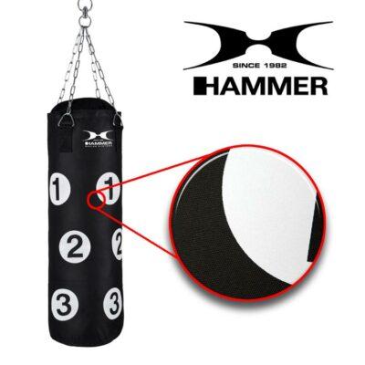Boxsack SPARRING PARTNER mit Trefferpunkten von HAMMER SPORT d