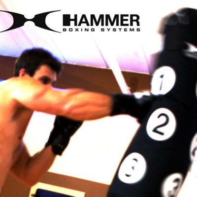 Boxsack SPARRING PARTNER mit Trefferpunkten von HAMMER SPORT c