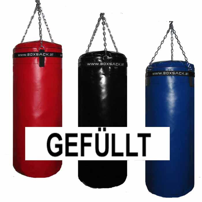 Boxsack Defender gefüllt mit 18 Kg