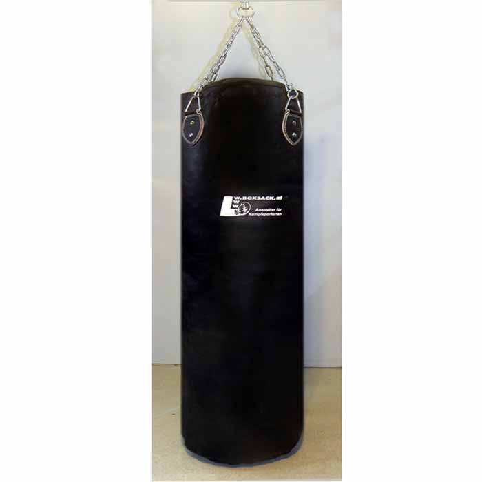 Boxsack aus Leder in verschiedenen Größen gefüllt und ungefüllt Typ d