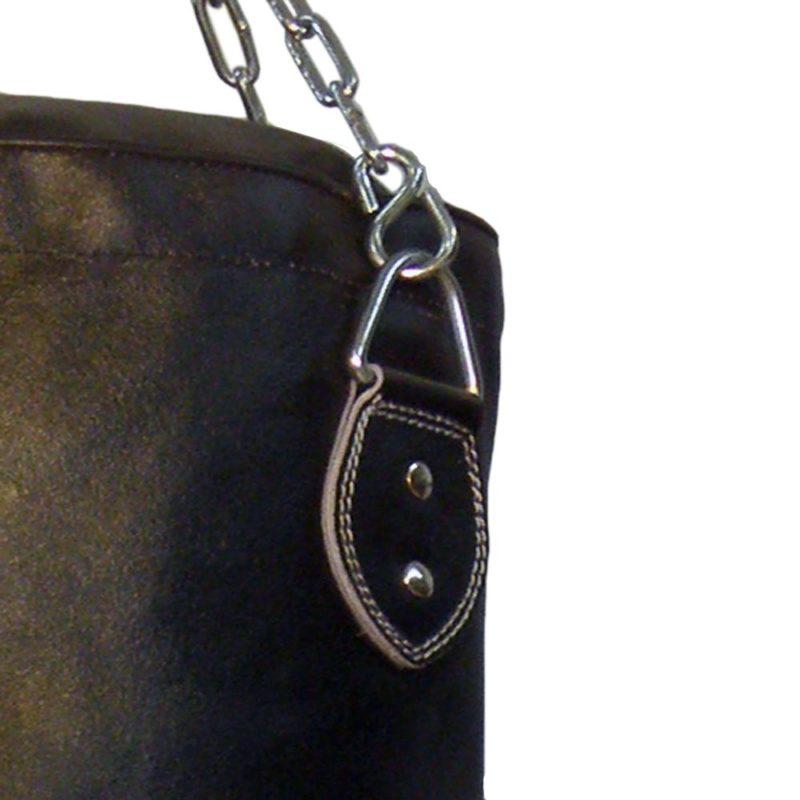 Boxsack aus Leder in verschiedenen Größen gefüllt und ungefüllt Typ g
