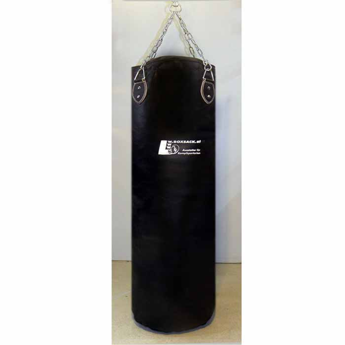 Boxsack aus Leder in verschiedenen Größen gefüllt und ungefüllt Typ e