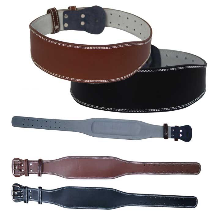 Gewichtshebergürtel aus dickem Leder in verschieden Größen erhältlich