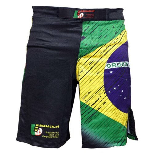 MMA Shorts Farbe Gelb Grün Blau 01