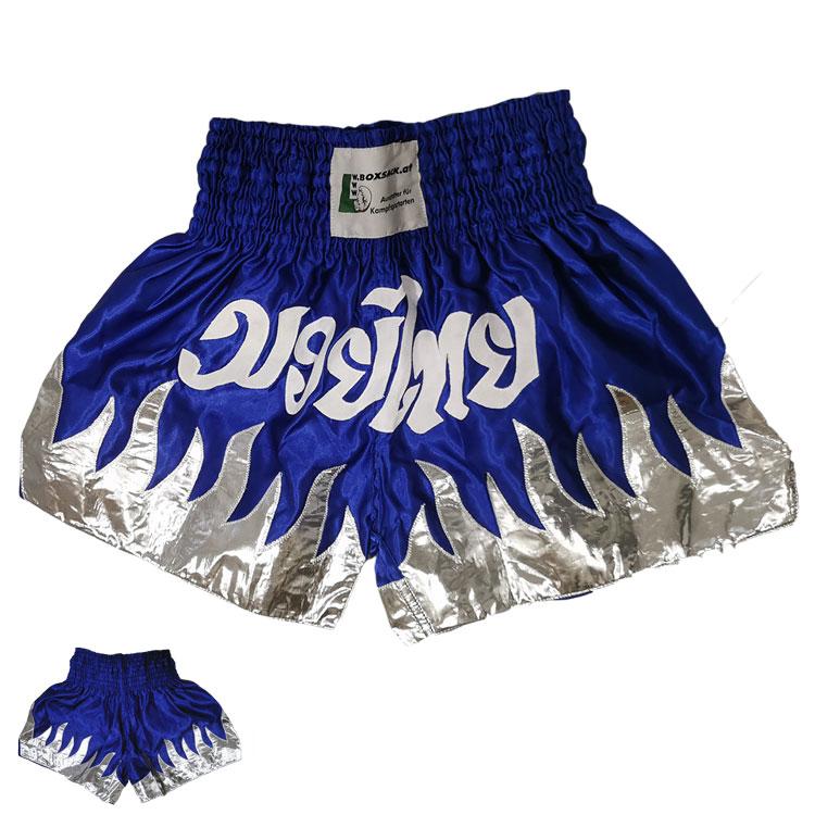 Muay Thai Hose Blau Typ B