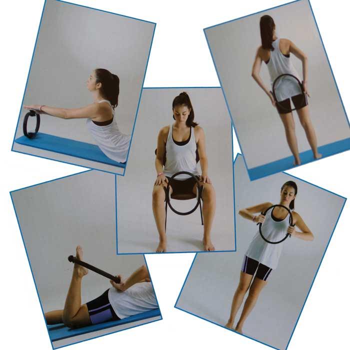 Pilates Ring für Kraft Aerobis und Entspannungsübungen Typ c