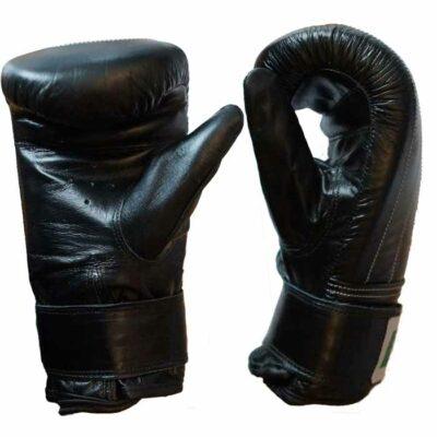 Sandsackhandschuhe Rindsleder Schwarz in verschiedenen Größen Typ b