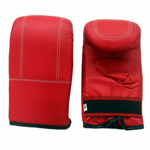 Sandsackhandschuhe aus strapazierfähigem PU Rot
