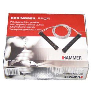 Springseil Profi von Hammer Sport mit Stahlseil