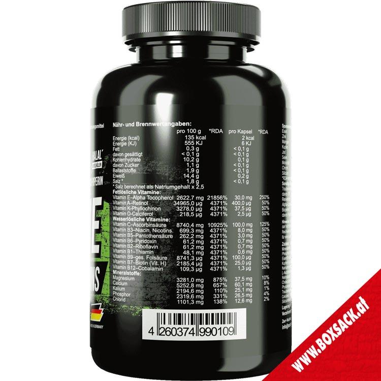 Zec Antioxidantien und Vitamine Kapseln all in one Antioxidant Vitamin 120 Stueck Bild a