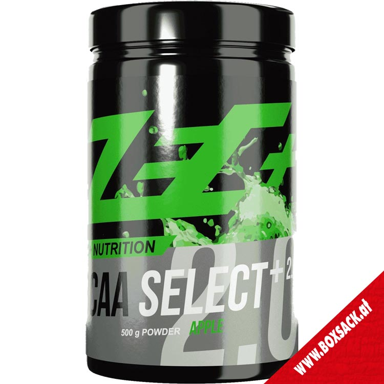 Zec Bcaa select 20 Bcaa Pulver Apple 500g